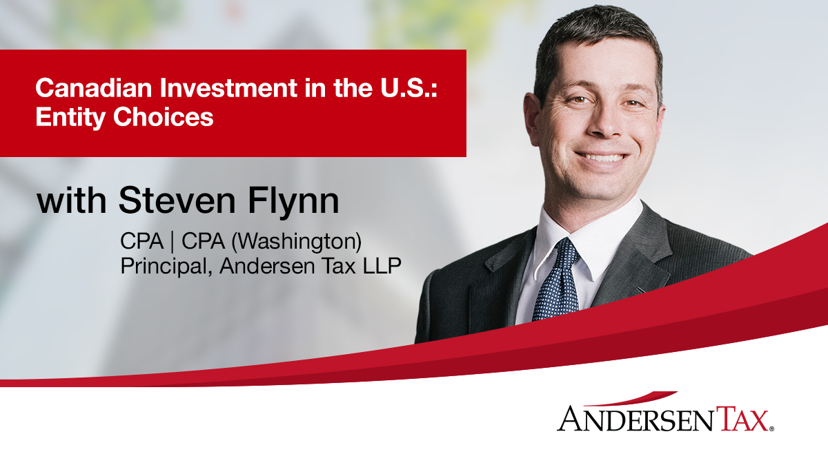 Investment in the U.S.