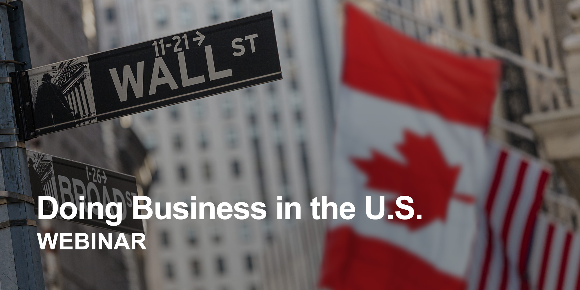 Canadians Doing Business in the U.S.
