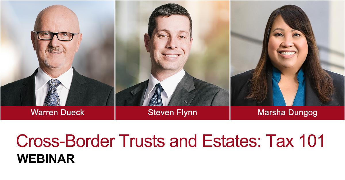 Cross Border Trust Estates